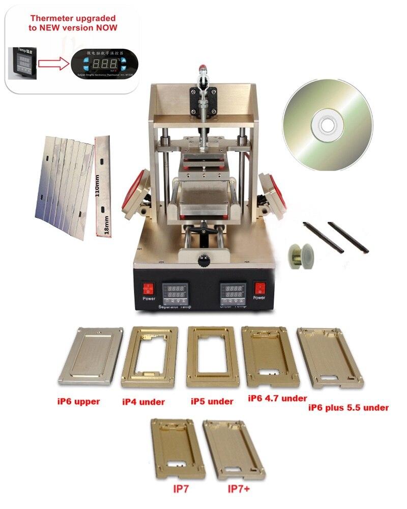 Купить с кэшбэком 5 in 1 Multifunction Bezel Middle Frame Separator Machine for phone lcd repair