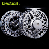 Money saving combo 5/6 fly reel with premier extra spool 3BB fly fishing reel 90mm with incoming click fish wheel ice reel