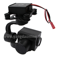 Zoom Camera for Drone 1080P 10X and UAV Drone Camera Gimbal Stabilizer for Aerial Cinematography Inspection Rescue Surveillance