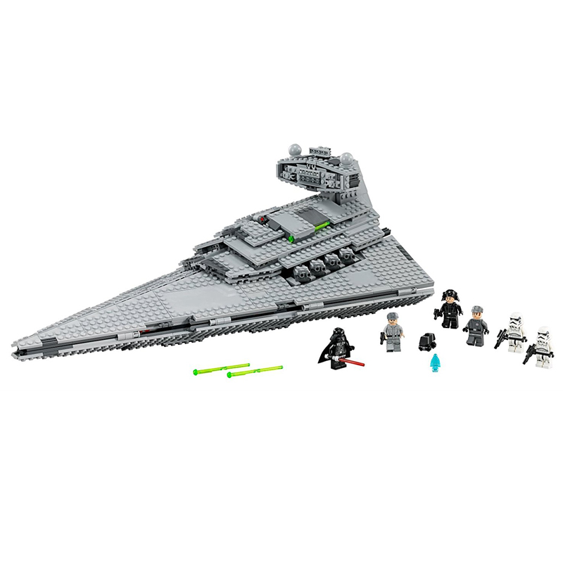 LEPIN 05062 1391pcs Star Series The Super Star Fighting Destroyer Building Block set Brick Toy For children Gift 75055 05028 star wars execytor super star destroyer model building kit mini block brick toy gift compatible 75055 tos lepin