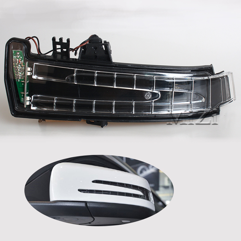 Car Side Mirror Direction Light Turn Signal Lamp For Mercedes W204 W212 W221 C200 Benz LED Signals Indicator Blinker Lamp 1 psc left side mirror indicator light turn signal lamp for mazda 6 2 0l 2008