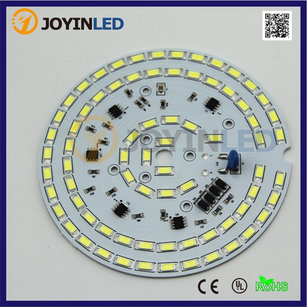 Envío gratis 110 V AC módulo led sin necesidad de controlador Regulable 30 W de alta bahía fuente de luz led PCB