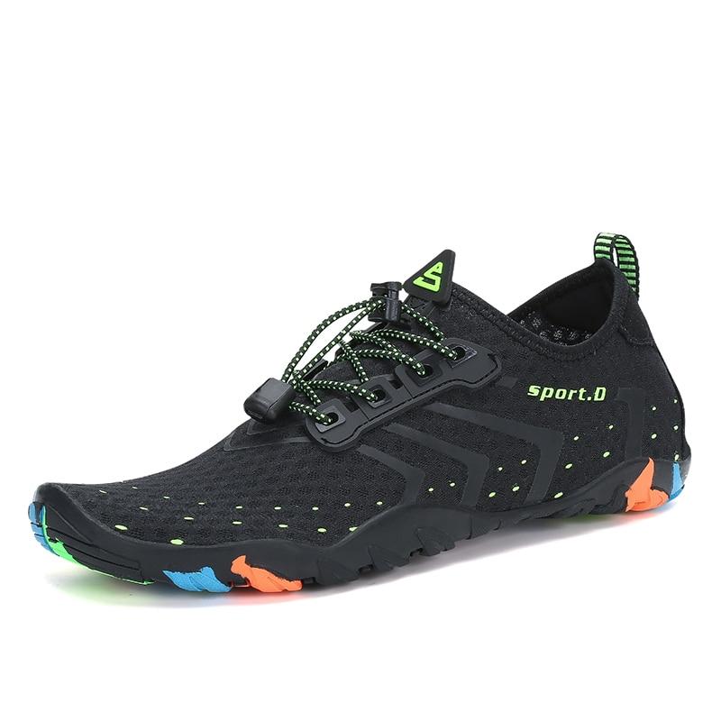 Summer Breathable Beach Sandals Aqua Men's Shoes 1