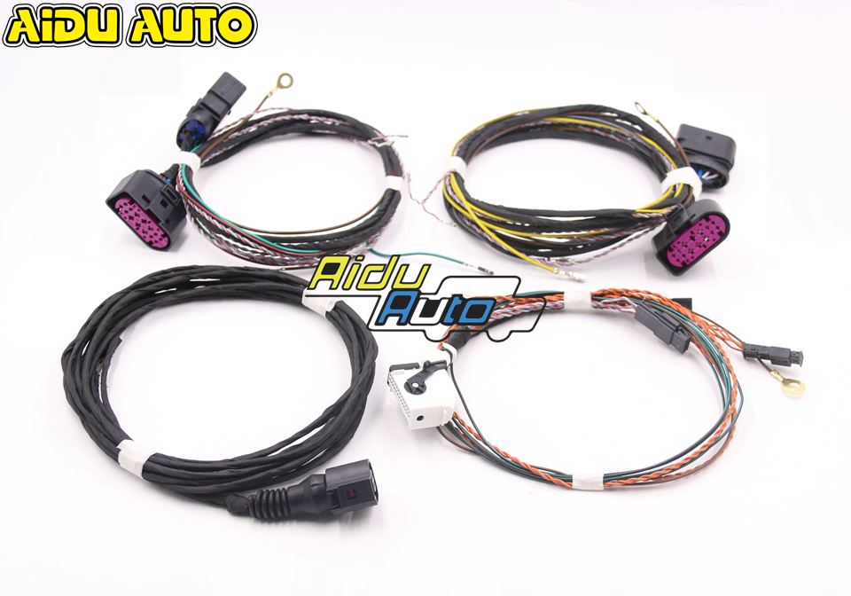 FOR VW Golf 7 MK7 Xenon Headlight Auto Leveling Range Headlight Cornering AFS Wire cable Harness