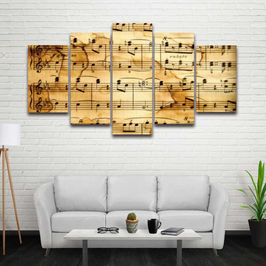 Music Note Canvas Wall Art » Music Note Gifts