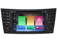Octa core android 8,0 автомобиля Радио DVD для Mercedes E G класса W211 W464 CLS gps NAVI с радио W211 E class 2002 2008 WI FI 3g