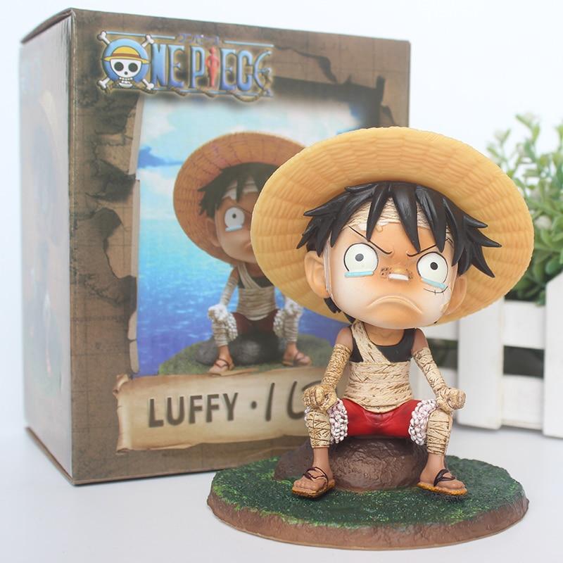 Japanese Anime One Piece Luffy D Monkey Days on my Past Figure Statue 12cm NoBox