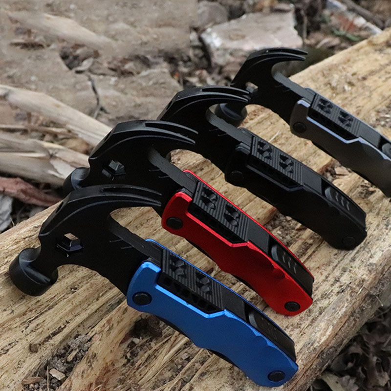 Knife Screwdriver Saw Claw Hammer Hand Tool Multi-function Safety Hammer Combination Pliers Multi tools Vehicle Safety Tools