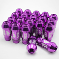 Acorn Rim Extended Open End Wheel Racing Lug Nuts With One Key M12X1.5 20pcs