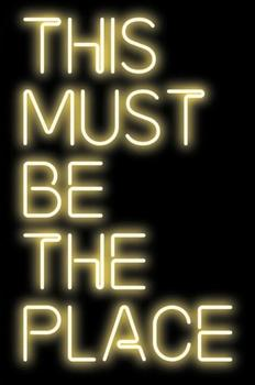 Custom This Must Be The Place Blue White Red Pink Deep blue Purple Turquoise Green Yellow Glass Neon Light Beer Bar