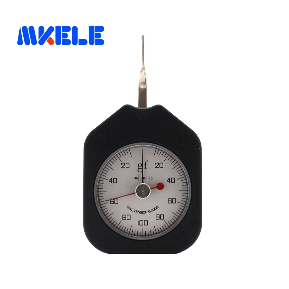 SEG-100-2 100g  Tensiometer  Analog Dial Gauge Double Pointer Force Tools Tension Meter