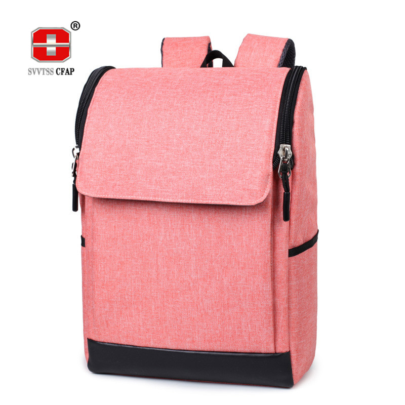 College Wind Casual backpack men Quality nylon solid women school bags for teenage girls boys Laptop back pack back bag male new