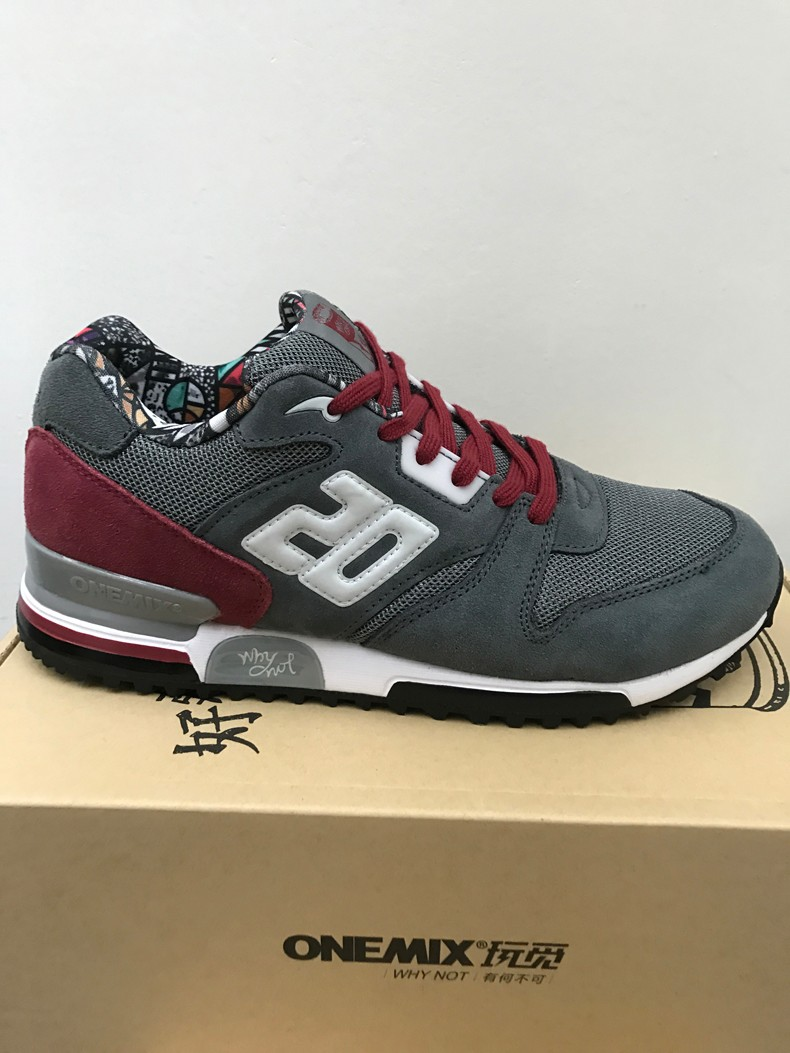 ONEMIX Men Retro 750 Running Shoes Rubber Leather Sport Women Trainers Sneakers Breathable Female Walking Jogging Shoes EU 36-44 32