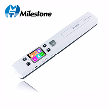 Milestone Document Scanner wifi wireless Photo Fine Resolution 1050DPI Portable Connected JPG/PDF File Format IScan02