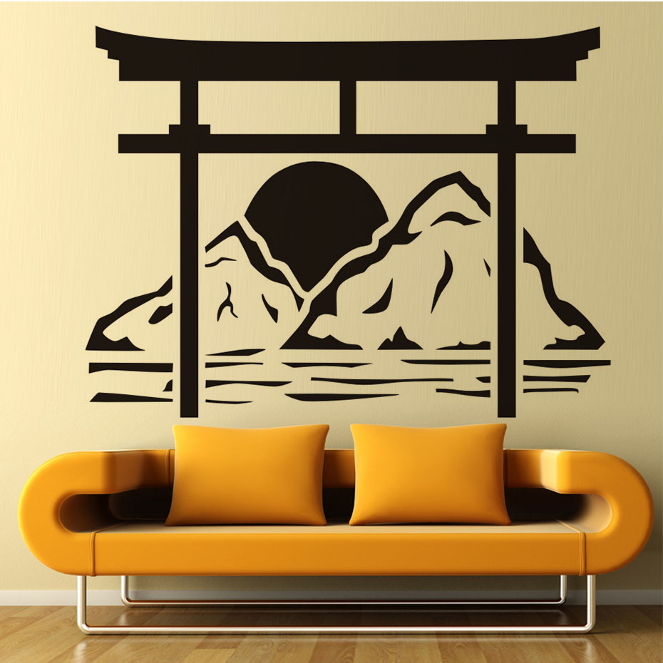 Japanese Wall Decorations Images - home design wall stickers