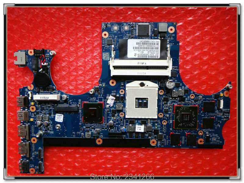 665934-001 for HP Envy 17T-3000 motherboard Series Notebook PC system board HM65 ATI HD6770M DDR3 original 746447 501 laptop motherboard for hp envy 15t j series notebook pc sytem board 100% working