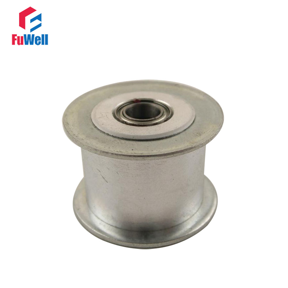 2pcs HTD5M 20T Timing Idler Pulley 16/21/27mm Belt Width Bearing Gear Wheel Without Teeth 5/6/7/8/10/12/15mm Bore Idle Pulley2pcs HTD5M 20T Timing Idler Pulley 16/21/27mm Belt Width Bearing Gear Wheel Without Teeth 5/6/7/8/10/12/15mm Bore Idle Pulley