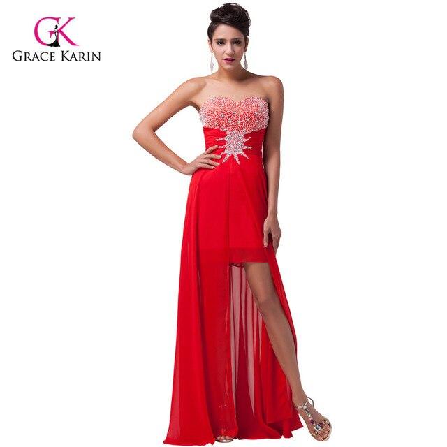 Entrega rápida gracia Karin mujer elegante vestido largo de noche ...