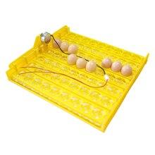 63 eier Inkubator Drehen Tablett Hühner Enten Und Andere Geflügel Inkubator Automatisch Drehen Eier Geflügel Inkubation Ausrüstung