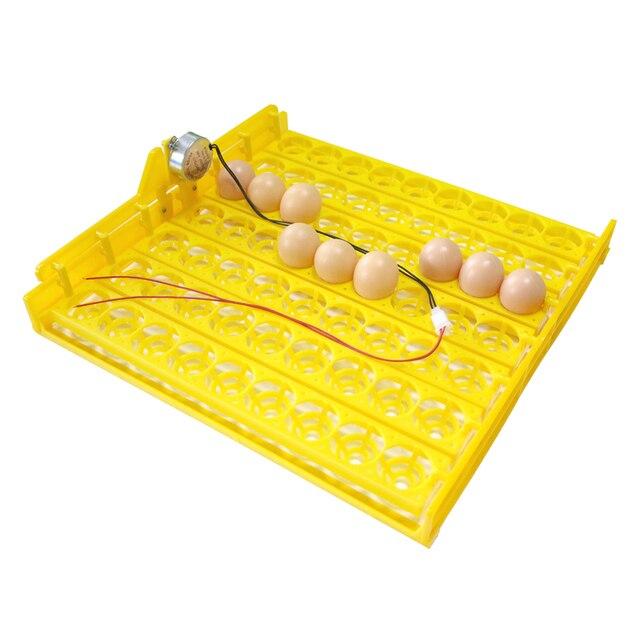 63 بيضة حاضنة تتحول صينية الدجاج البط وغيرها من آلَةُ تَفْرِيخ الدواجن تتحول تلقائيا البيض معدات حضانة الدواجن