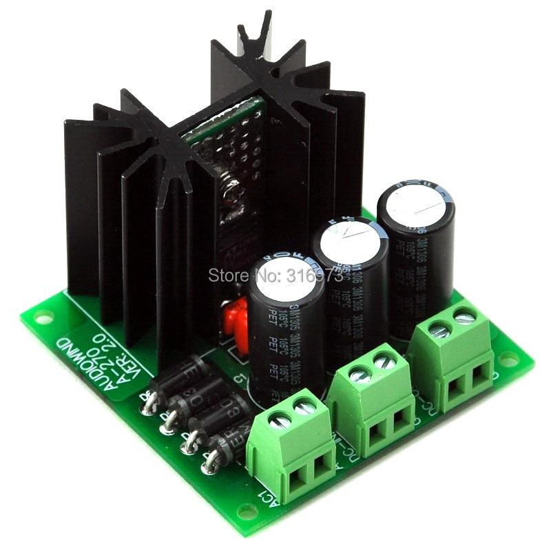 Ultra-low Noise < 40uV Adjustable Voltage Regulator Module, 1.25~20V / 1.5 Amp.