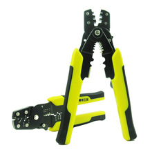 Tao Hua Yuan Multi-functional Decrustation Pliers Wire Stripper Hand Tools Crimper Cable Cutter Stock item Crimping