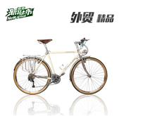 700C road bike recuperation city bike Reynolds520 frame / front fork 27 speed BICYCLE