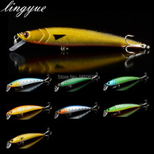 Hot Sale New Long Minnow Fishing Lures 11 5cm Slow Floating Hard Bait Fishing Crankbaits Bass