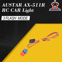 AUSTAR AX-511R Red Circular Ultra Bright LED Light Strobing-blasting Flashing Fast-slow Rotating Mode for RC Car Model