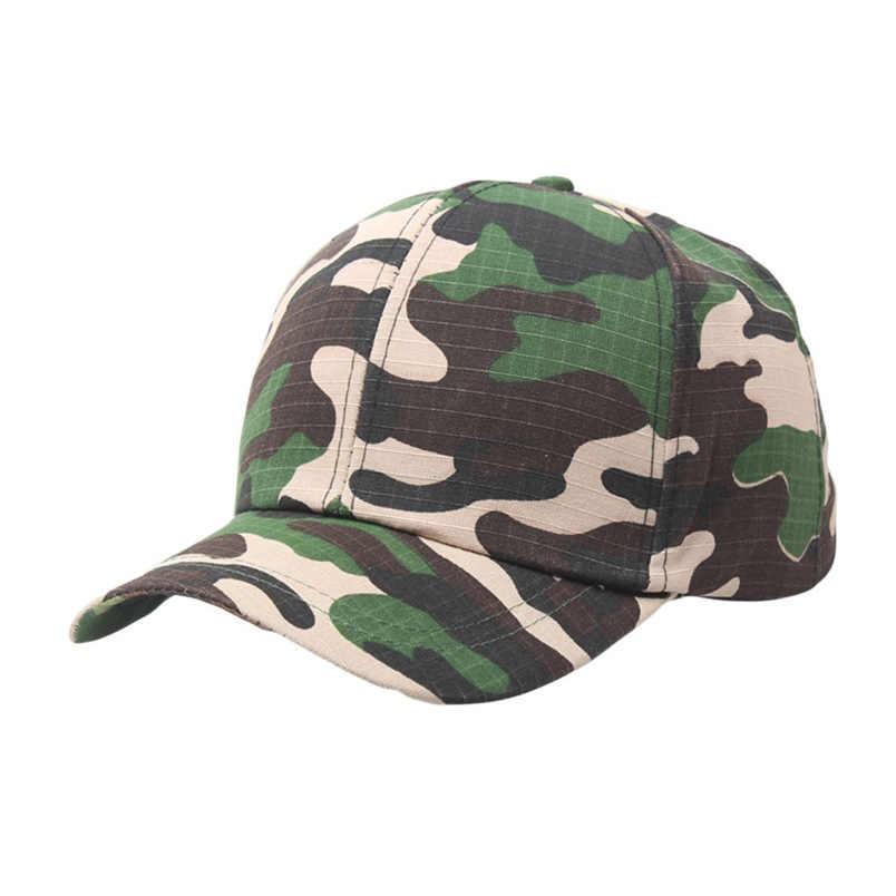 ... Baseball Caps Men Women Camouflage Outdoor Adjustable Snapback Climbing  Plain Vintage Army Casual Cadet Style Hat ... fb17ef9fba9