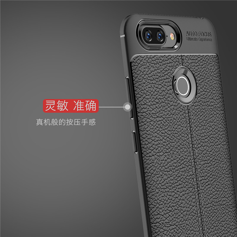 Case Lenovo S5 Cover Shockproof Luxury Leather TPU Case 1