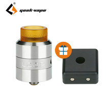 100% Original GeekVape Cunamis 24 RDA Atomizer Support Single or Double Coil Electronic Cig Rebuildable Atomizer 24mm Vape Tank