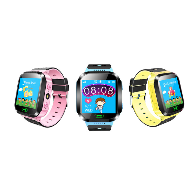 MOCRUX Q528 Smart watch Children Kid Wristwatch SOS GSM Locator Tracker Anti-Lost Safe Smartwatch Child Guard for iOS Android