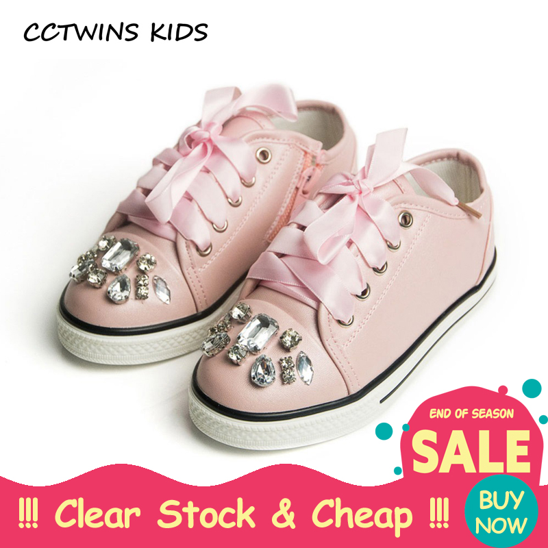 CCTWINS KIDS Spring Autumn Kid Fashion White Sneaker Children Pu Leather Trainer Toddler Girl Lace-Up Rhinestone Pink Flat F438CCTWINS KIDS Spring Autumn Kid Fashion White Sneaker Children Pu Leather Trainer Toddler Girl Lace-Up Rhinestone Pink Flat F438