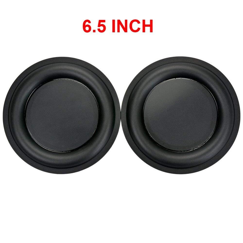2 pièces 6.5 pouce stéréo renforcer bricolage basse Vibration plaque Membrane/vibrant diaphragme haut-parleur passif radiateur de remplacement