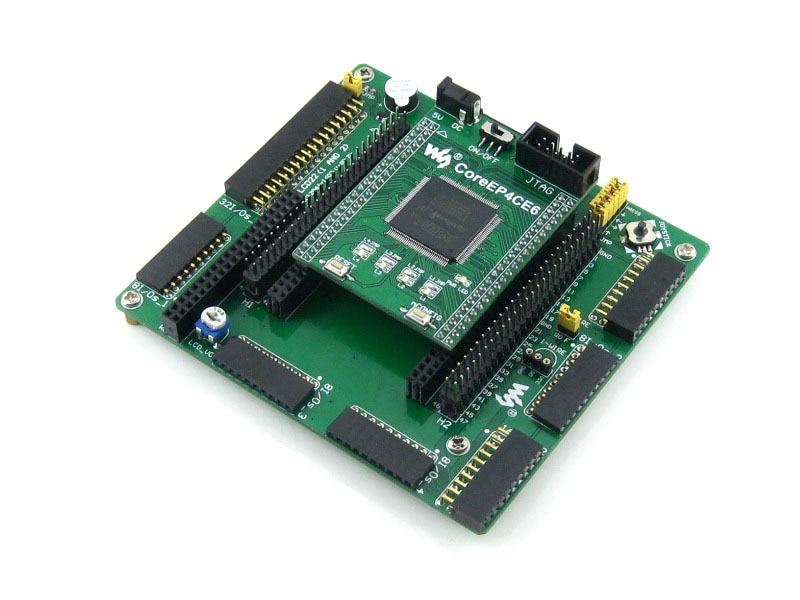Modules Waveshare Altera Cyclone Board EP4CE6 EP4CE6E22C8N ALTERA Cyclone IV FPGA Development Board Kit All I/Os = OpenEP4CE6-C waveshare core3s500e xc3s500e xilinx spartan3e fpga evaluation development core board green