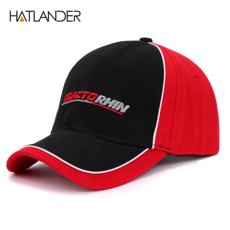 Prix pour Hatlander Hommes baseball caps Gorras Casquette os garçons chapeaux bouchon de course casual réglable coton rouge femmes casquette de baseball