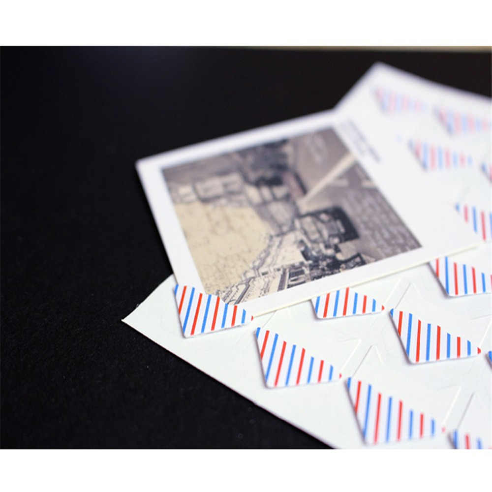 ZMHEGW nowy DIY śliczne taśmy narożnik papier pakowy naklejki albumy fotograficzne dekoracje Scrapbooking wiskoza Album fotograficzny dedykowane montażu