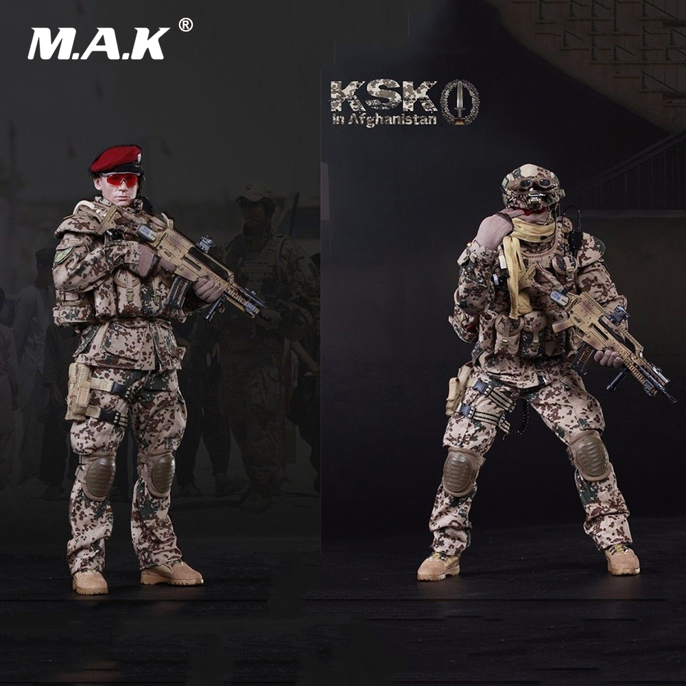 1/6 Scale Full Set Action Figure FLAGSET Germany KSK Special Action Team in Afghanistan Assault 73009 12 Model for Collection ewelink dooya electric curtain system curtain motor dt52e 45w remote control motorized aluminium curtain rail tracks 1m 6m
