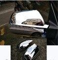 Для HYUNDAI TUCSON 2005 2006 2007 2008 2009 дверь боковое зеркало хромированная крышка заднего вида