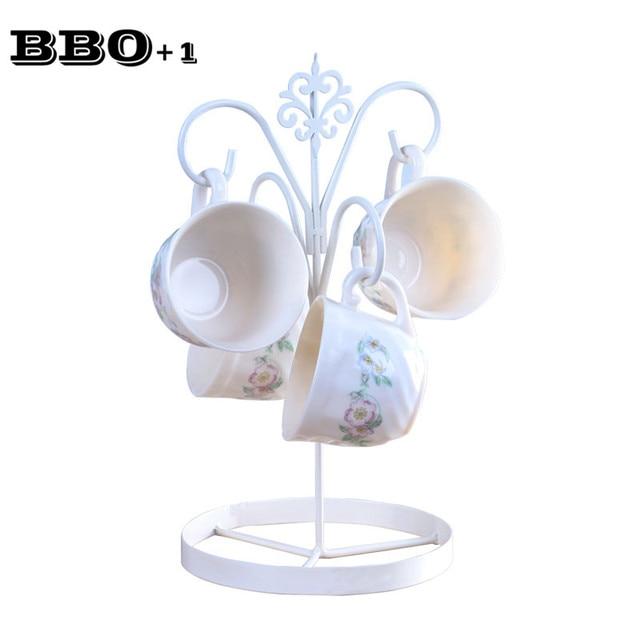 Hot 6 9 Coffee Tea Cup Mug Holder Stand Kitchen 4 Storage