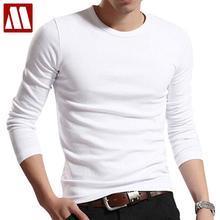 Men T Solid Shirts Fashion 2016 New Fashion Fitness Long Sleeve Tshirts HommeTops Tees Camisetas Hombre