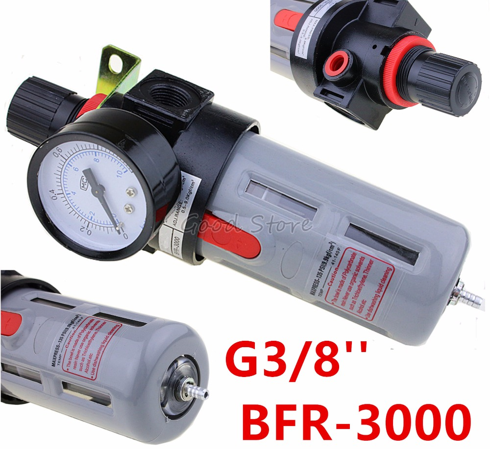 <font><b>BFR3000</b></font> G3/8'' TAC type Air pressure regulating filter BFR-3000 filter pressure regulator valve BFR 3000 oil-water separator image