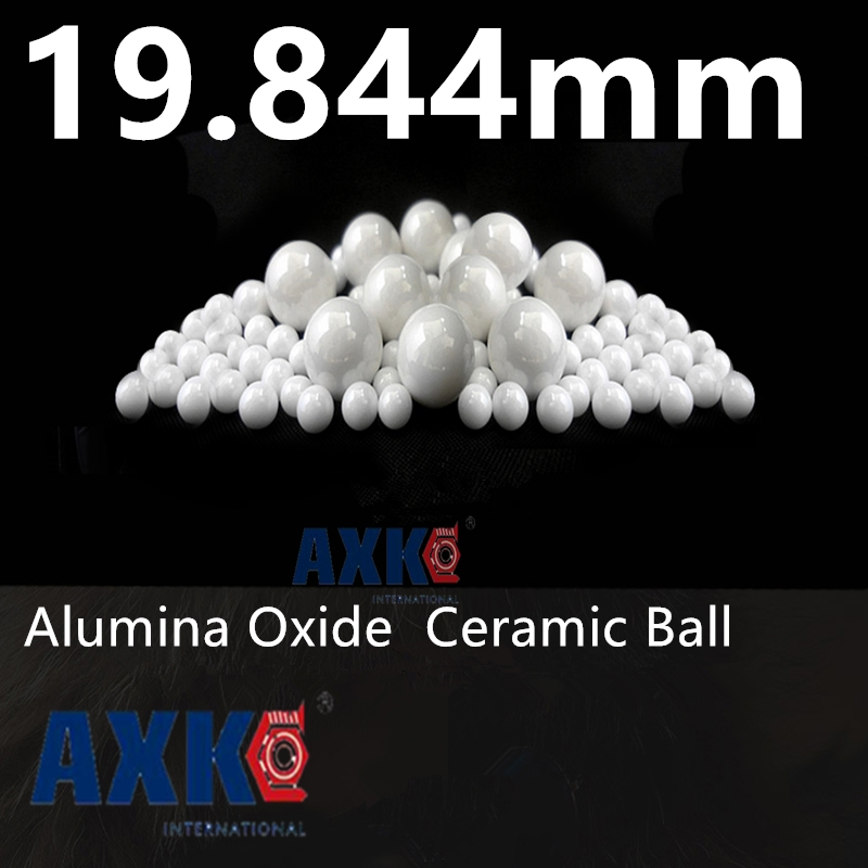 25/32=19.844mm  Alumina Oxide Ceramic Ball  Al2O3  G20   2PCS  used for pump, valve and flow-meter   19.844mm ceramic ball zinc oxide and manganese doped zinc oxide nanoparticles