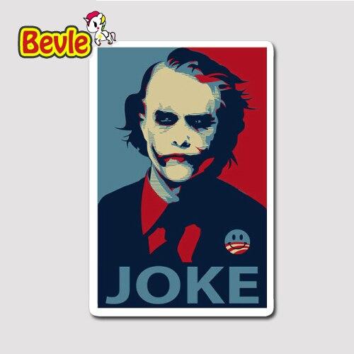 Bevle 1279 Batman Clown Joker 3M Sticker Waterproof Laptop Luggage Fridge Skateboard Car Graffiti Cartoon Tide StickerBevle 1279 Batman Clown Joker 3M Sticker Waterproof Laptop Luggage Fridge Skateboard Car Graffiti Cartoon Tide Sticker