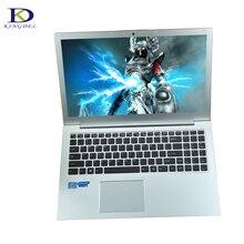Хит продаж 15.6 дюймов i7 6500U ультрабук с подсветкой клавиатуры Тип-C Dual Core i7 6600U ноутбук 8 г Оперативная память + 256 г SSD + 1 ТБ HDD