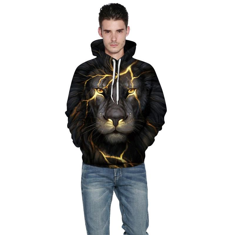 Mr.1991INC New Fashion Men/Women 3d Sweatshirts Print Golden Lightning Lion Hooded Hoodies Thin Hoody Tracksuits Tops New Fashion Men/Women 3d Sweatshirts of a Lightning Lion HTB1BF Mk3MPMeJjy1Xbq6AwxVXaM