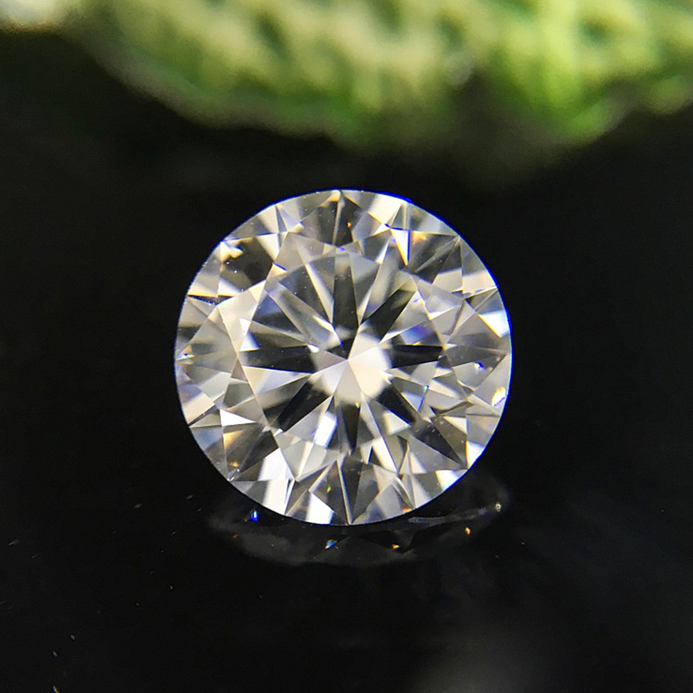0.5CT 5mm F 3EX Round HTHP Diamond Lab Grown Diamon Lab Grown Diamond With Certificated
