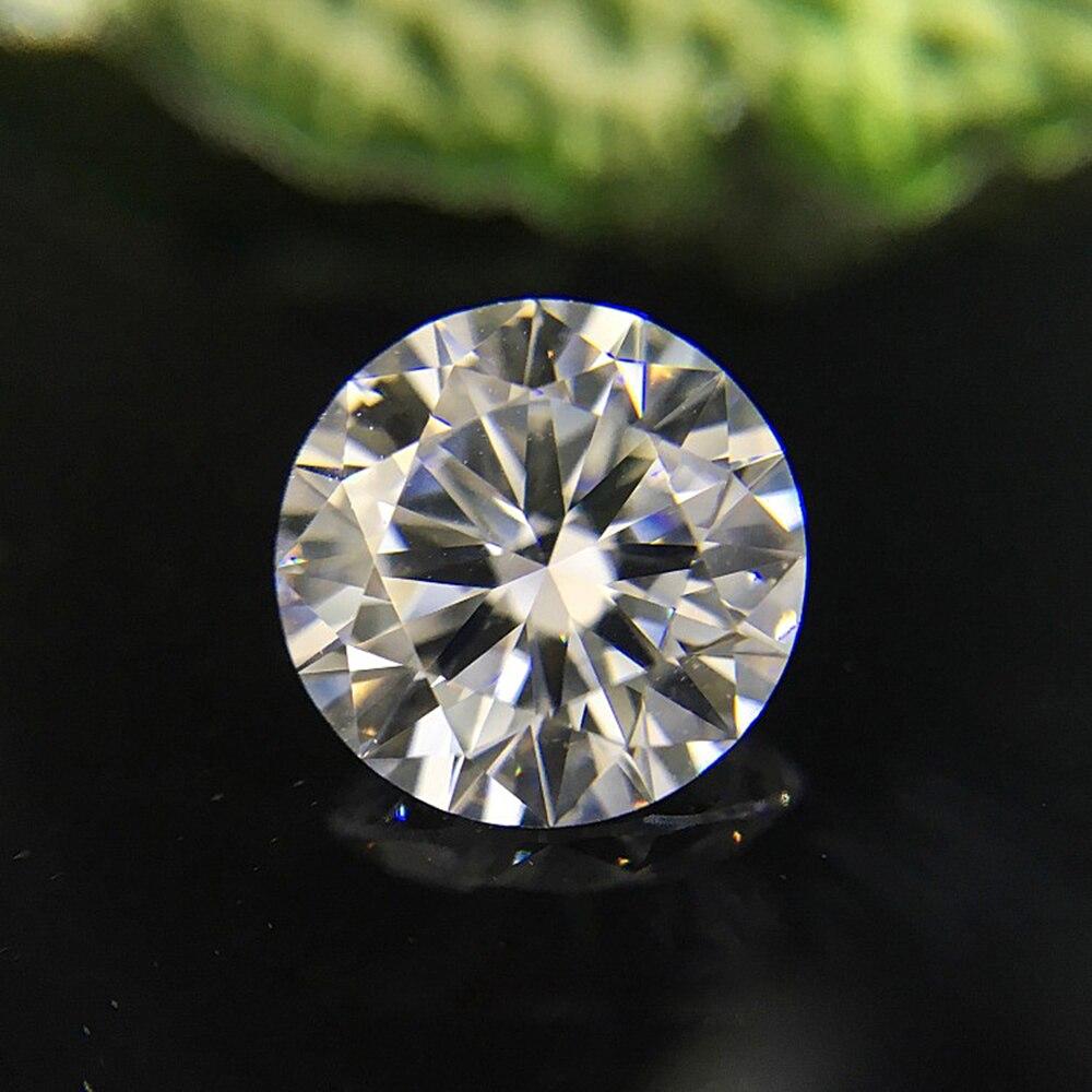 0.5CT 5mm F 3EX Round HTHP Diamond Lab Grown Diamon Lab Grown Diamond with Certificated