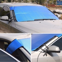 2019 New Car Windshield SUV Sunshade Sun Shield Sun Shade Cover Front Windscreen Block Auto Decoration